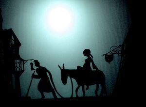 Joseph  et Marie à Bethléem