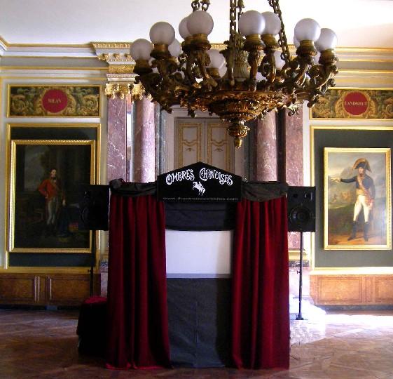 Le Théâtre des Ombres au Château de Versailles